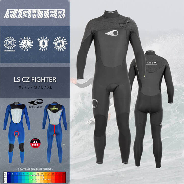 Fullsuit 5/4/3 LS CZ FIGHTER